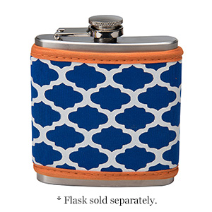 Display your school pride with your very own neoprene flask cover in your school colors! Neoprene is insulated and machine washable. This item can be monogrammed, embroidered or screen printed. FLASK SOLD SEPARATELY!!