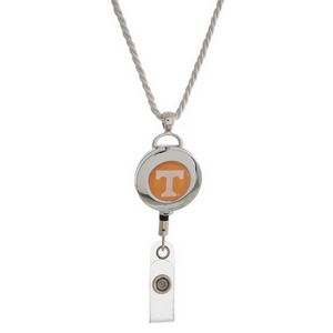 "Officially licensed University of Tennessee lanyard and ID holder with a break-away cord. Approximately 32"" in length."